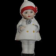 SOLD Miniature German Bisque Nodder Doll