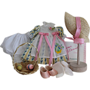 """SOLD Madame Alexander 'Easter Special Occasions' Outfit - For 8"""" Wendy Doll"""
