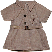 Factory Brownie Girl Scout Doll Dress