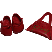 Vogue Ginny Doll Shoes And Signature Purse