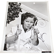 SOLD 1939 Shirley Temple Publicity Photo Still