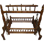 Rajasthani Palace 1800's Childs Cradle Very Rare