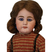 "SALE c.1890 17"" Closed Mouth German Child Simon & Halbig 949 German Bisque Doll"