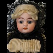 """SALE Antique c.1900 9"""" Simon & Halbig 950 Original Cultural Costume Closed Mouth"""