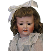 "16"" Antique Bisque Kley & Hahn 161 character doll Crier Mech.in head Orig.Body-"