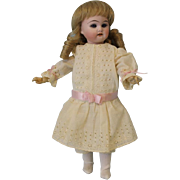 "c.1900 Antique 9"" German Bisque Doll Marked 40 R. DEP 9/0"