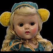 SALE 8 Inch Vintage Ginny Walker #6047-1956 Roller Skater Doll For Fun Time Series ...