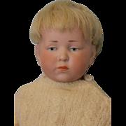 "SALE c.1910 11"" Kammer & Reinhardt Character 101 Peter Doll, Orig wig, Ball Jtd. Body"