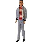 1962 Molded hair Ken wearing The Yachtsman outfit Excellent condition