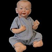 """SALE Antique 11"""" K*R Kammer & Reinhardt 100 Kaiser Baby Doll German Bisque Character"""
