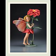 "SALE 10"" R. John Wright Zinnia Fairy Artist Doll Limited Edition"