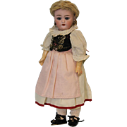 "SALE 11"" Antique German Bisque Doll 1079 by Simon & Halbig Orig. Ethnic Costume 1900"