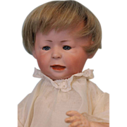 "SALE 11"" Early Doll c1914 SIMON & HALBIG Character #1428 FREDDIE Slant-Hip Toddler"
