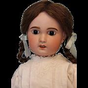 "SALE Antique 23"" SFBJ Paris 11 French Bisque Doll c.1900 Beautifully dressed"