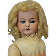 "SOLD Antique 21.5"" Simon & Halbig DEP 719 German Bisque Character Doll c.1910"