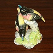 SALE Stangl Pottery Blackbirds Figurine