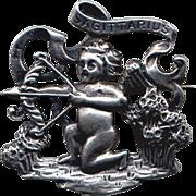 Cini Sterling Zodiac Sagittarius Pin
