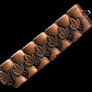 SALE Rebajes Modernist Copper Link Bracelet