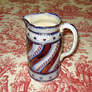 English Staffordshire Pottery Lustre-Ware Jug