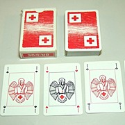 "Brepols ""Red Cross"" Playing Cards, c.1952"