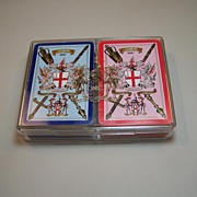 """Double Deck Worshipful Company Playing Cards, """"Sheriff of London 1990"""""""