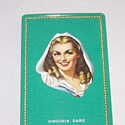"USPC Congress ""Virginia Dare"" Pin-Up / Glamour Playing Cards, c.1940s"