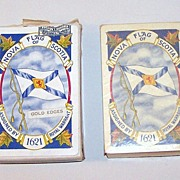 "Canadian Playing Cards, ""Colonial Bridge"" Joker/Ace, Nova Scotia Tricentennial, c.1925"