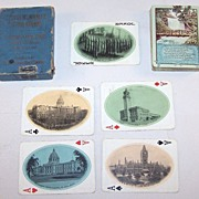 "Chicago, Milwaukee & St. Paul Railway ""Minehaha Falls"" Railroad Souvenir Playing Cards, .."