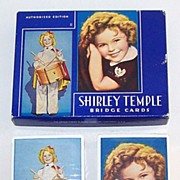 """USPC """"Shirley Temple"""" Playing Cards, c.1935"""