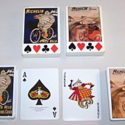 """2 Decks RCI """"Michelin Tyres"""" Playing Cards, c.1988"""