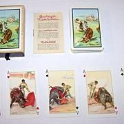"Fournier ""Baraja Taurina"" (Bullfighting) Playing Cards, Martinez de Leon Designs, c.1951"