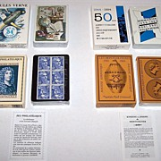 "SOLD 3 Decks Grimaud Playing Cards, $15/ea.: (i) ""Normandie 1944-1994,"" Yannick Pennanguer"