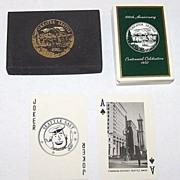 "Brown & Bigelow ""Seattle Centennial"" Playing Cards, c.1952"
