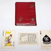 "Double Deck ""Remy Martin"" Playing Cards, Auction Bridge Set, Hong Kong Maker (Arrco Courts"