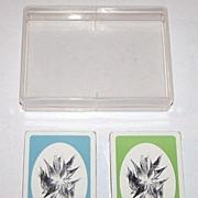 "Double Deck Piatnik ""Anton Lehmden"" Playing Cards, Edition Hilger, Anton Lehmden Designs,"