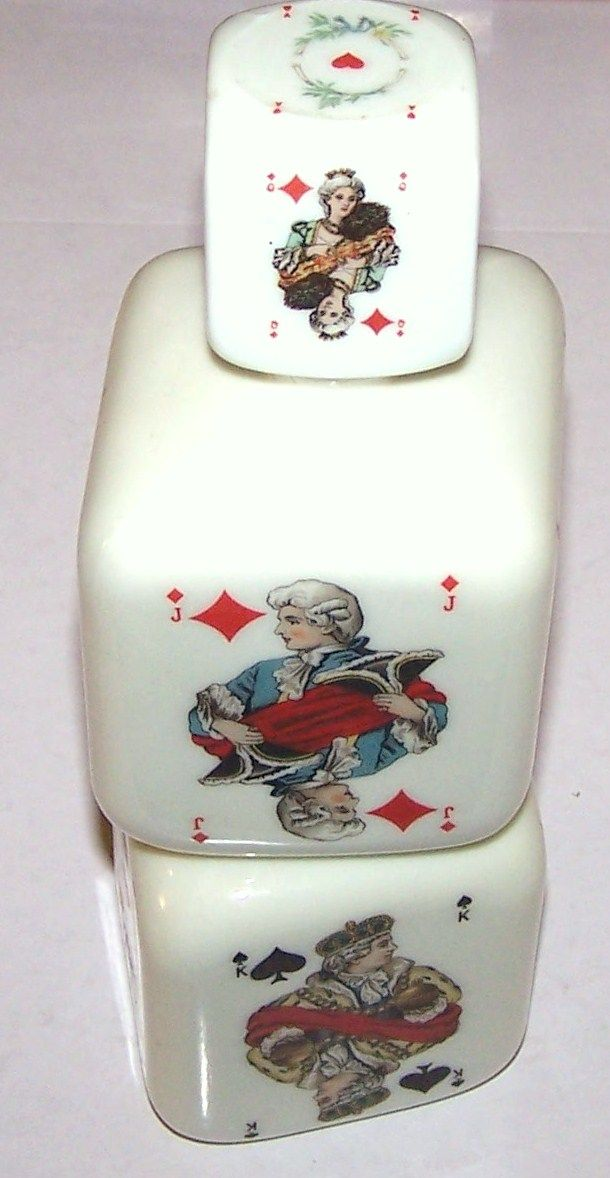 """German Porcelain Decanter, ASS """"Rococo"""" (Dondorf """"Baronesse"""") Pattern"""