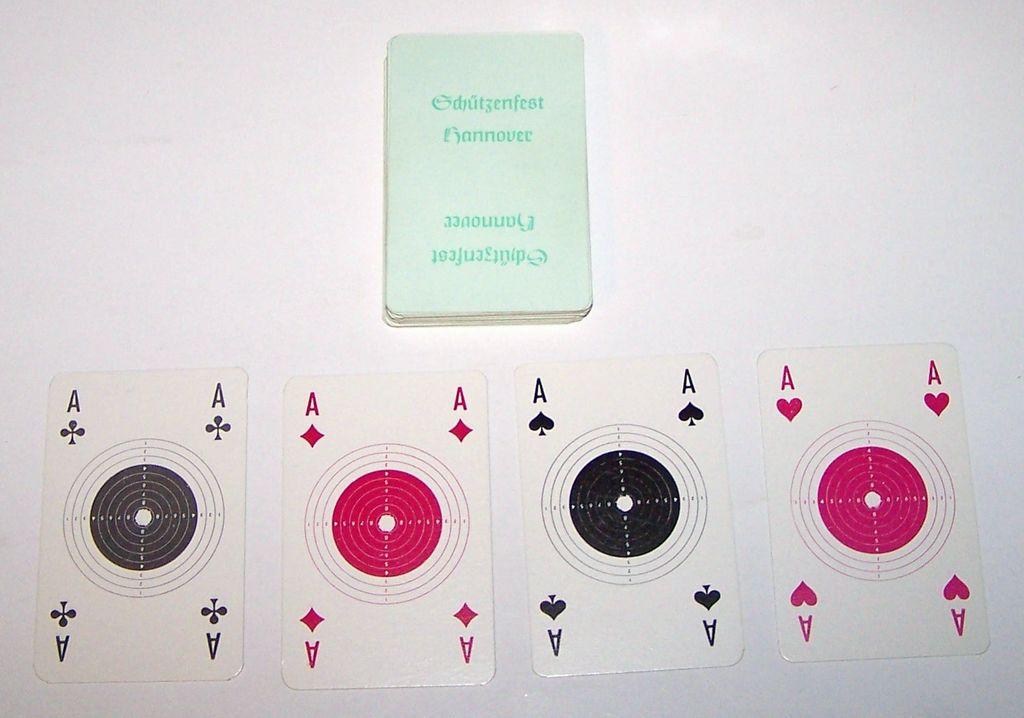 """Erich Friemann """"Schützenfest Hannover"""" Skat Playing Cards, c.1983"""