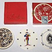 "Twin Decks Waddington ""Rondo"" Playing Cards, c.1960"