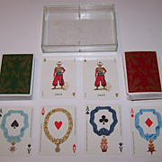 "SOLD Double Deck Grimaud ""Napoléon"" Playing Cards, 200th Anniversary of Napoleon's Birt"