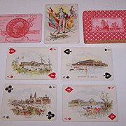 """Winters Art Litho """"Columbian Exposition"""" Playing Cards, c.1893"""