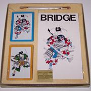 Charles Goren Bridge Set, Ready Rite Pencil, Card Maker Unknown, Score Pad Maker Unknown, c.1960s