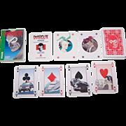 "Modiano ""Diabolik"" Playing Cards, Lo Scarabeo Publisher, Angela and Luciana Giussani Creat"