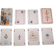 "SOLD Heron ""Revolution, 1789-1989"" Playing Cards, French Revolution Bicentennial, c.1989"