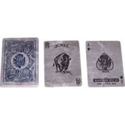 """Aluminum Mfg. Co. """"Aluminum Playing Cards,"""" Pan American Exposition, c.1901"""