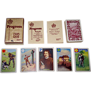 "Castell Brothers, Ltd. (Pepys Series) ""Progress"" Card Game, John Bunyan's ""Pilgrim's Progress,"" c.1938"