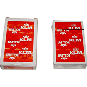 "SOLD Carta Mundi ""KLM"" Playing Cards, Max Velthuijs Designs, c.1970s"