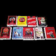 """9 Decks USPC """"Coca Cola"""" Playing Cards, $5/ea."""