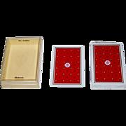 Nintendo Standard English Pattern All Plastic Playing Cards, c.1970s