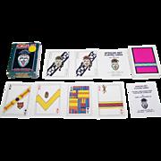 "SOLD Carta Mundi ""African Art"" Playing Cards, U.S. Games Systems Publisher, John V. Beckve"