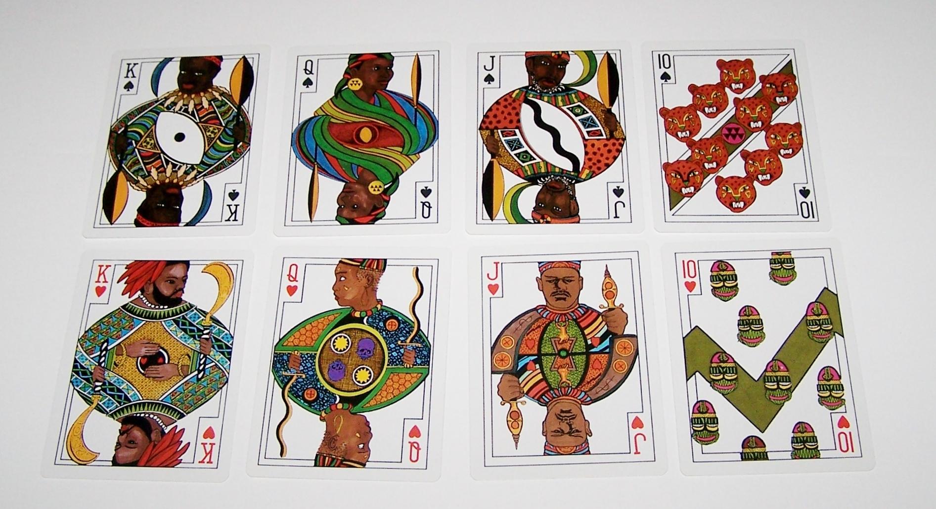 Carta Mundi African Art Playing Cards U S Games